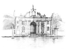 Daniel Mowery / Vicenza Drawing: Villa & Garden