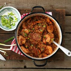 Shrimp and Oyster Perloo | SAVEUR I read the info on this dish and it may not be considered a cajun recipe, however it is so closely related, I added it to my Cajun/Creole/Soul food board.