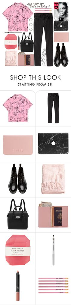 """""""1•2018"""" by dynh ❤ liked on Polyvore featuring Proenza Schouler, Coast, Dr. Martens, H&M, Mulberry, Royce Leather, Pelle, PurMinerals, NARS Cosmetics and D&G"""
