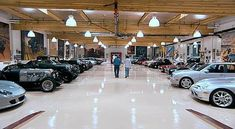 Jay Leno's Car Collection. Millions of dollars in classic, rare, custom made and unique cars and motorcycles are housed in huge garage facilities belonging to the late night talk show host.