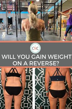 """""""Will I gain weight on a reverse diet?"""" This is the #1 question I receive from nutrition clients as well as prospective clients and followers on Instagram. It often depends on your specific goals, the rate of the reverse, your dieting history, current physical situation (like body weight, hormonal health, and other related stats), your mindset, and your patience. Body Weight, Weight Gain, Weight Loss, Nutrition Program, Nutrition Plans, Reverse Dieting, Macro Nutrition, Specific Goals, Boost Metabolism"""