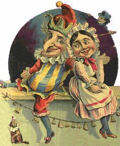 antique punch and judy dolls - Google Search