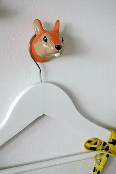 Forest Animals | wall hook   #thezoo #zoo #capventure #dutchdesign #product #JorineOosterhoff #wallhook