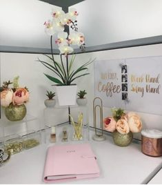 give cubicle office work space walls 24 plants for anyone who wants to add little greenery their home work cubicle diy desk glam give your cubicle office or work space makeover