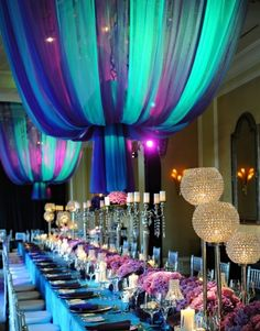 I like the color scheme... And table setting!