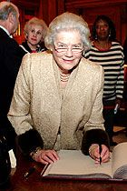 Mary Soames, Baroness Soames, LG, DBE, FRSL was the youngest and last surviving of the five children of Winston Churchill and his wife, Clementine. She was the widow of The Lord Soames. She was 91. (May 31st)