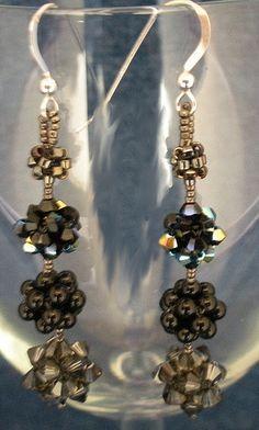 Cubic RAW earrings.