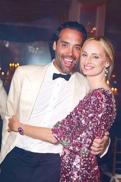 Andres Santo Domingo and Lauren Santo Domingo in Dolce & Gabbana
