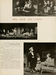 "Athena Yearbook, 1954. Bell, Book, and Candle"" :: Ohio University Archives"