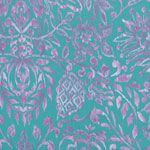 Dena Designs Tangier Ikat Damask Aqua [FS-DF164-Aqua] - $5.95 : Pink Chalk Fabrics is your online source for modern quilting cottons and sewing patterns., Cloth, Pattern + Tool for Modern Sewists