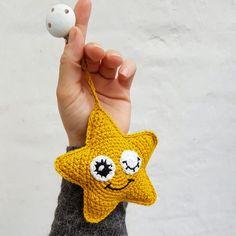 Diy Projects To Try, Crochet Projects, Amigurumi Toys, Nursery Room, Stars And Moon, Knit Crochet, Baby Kids, Crochet Earrings, Crochet Patterns