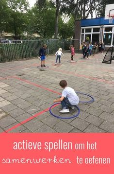 Activiteiten om het samenwerken te bevorderen Outside Activities, Gross Motor Activities, Outdoor Education, Outdoor Learning, Games For Kids, Activities For Kids, Classroom Activities, Leader In Me, 21st Century Skills
