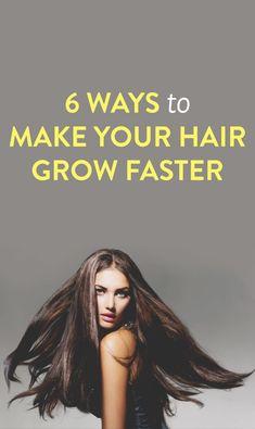 6 ways to make your hair grow faster #ambassador