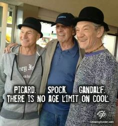 There is no age limit on cool.
