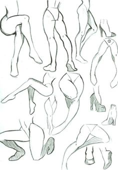 Leg Poses by MizMaxter on DeviantArt
