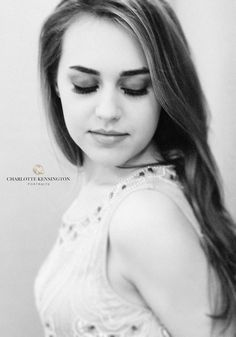 The Black & White Dreamy Portrait by Charlotte Kensington Portraits   www.CharlotteKensington.com