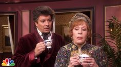 Tensions with Carol Burnett. To be honest I was laughing before the clip even started.