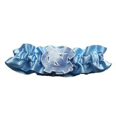 North Carolina Tar Heels NCAA Satin Garter (Baby Blue)