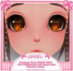 Second Life Marketplace - .:: POMF ::. M3 Head/Kemono Head - Autumn Eyes (Pomf Gift!)