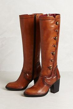 Heath Button Boots #anthropologie