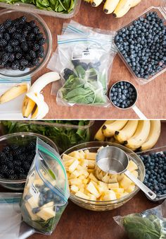 DIY Green Smoothies for a month.