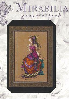 Gypsy Queen by Nora Corbett Mirabilia Designs Cross Stitch Chart #Mirabilia