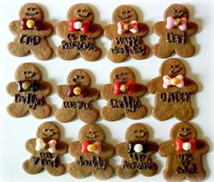 Fathers Day Gingerbread Men