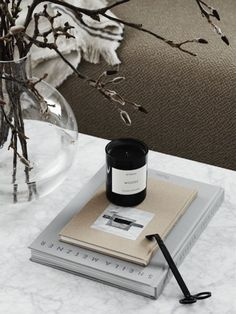 This is the latest interior project of Studio Lotta Agaton. I think the beige and grey color palette in this home works so perfectly and gives the space a very soft and inviting look. Home Coffee Tables, Coffee Table Styling, Decorating Coffee Tables, Coffee Table Design, Interior Design Living Room, Living Room Designs, Living Spaces, Beige Color Palette, Masculine Interior