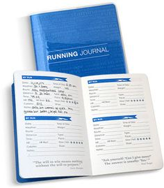 Running Journals by Gone For a Run