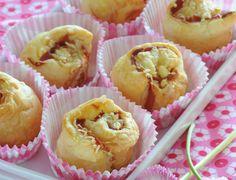 Bouchons feuilletés au jambon cru Voir la recette des Bouchons feuilletés au jambon cru