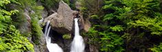 Bash Bish Falls in the Hudson Valley (border of MA and NY) :)