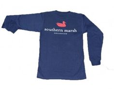 Southern Marsh long sleeve t-shirt