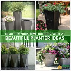 Flower pots are always present as multifunctional interior design accents, especially flower pots with a unique character or flower pots. Unique flower pots have different aesthetic values but are … Cedar Planter Box, Planter Boxes, Planter Ideas, Flower Planters, Flower Pots, Diy Plante, Aesthetic Value, Unique Flowers, Plein Air