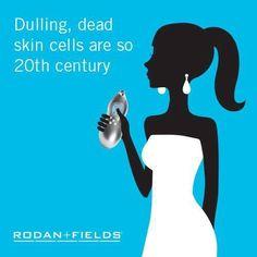 5 minutes, once a week, 5 million dead skin cells! www.tonibritz.myrandf.com or contact me at tonibritz@ymail.com