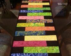 quilted table runner on Etsy, a global handmade and vintage marketplace.