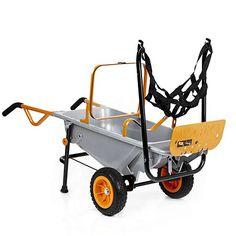 Worx Aerocart Multi Use Wheelbarrow