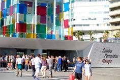 Arte frente a la playa, nos vamos de museo en museo por Málaga. Sigue el link http://mx.hola.com/viajes/