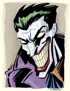 DC Comics / joker /harley queen #dc #joker #harley #queen #batman #robin - Minus.com