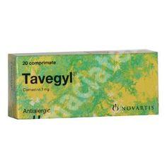 Tavegyl, 20 comprimate, Novartis[5948942000090] Allergies