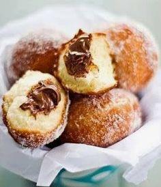 Nutella Bomboloni