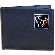 NFL Houston Texans Leather Bi-fold Wallet by Siskiyou. $19.99. NFL  Leather Bi-fold Wallet