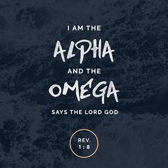 Revelation 1:8 - Alpha and Omega