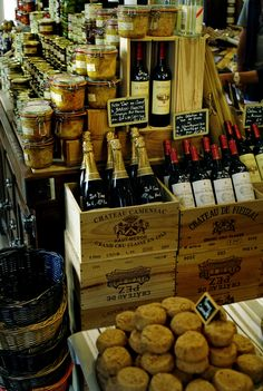 """Le comptoir Bordelais"" beautiful old fashioned ""epicerie"" in Bordeaux. Anything you wish is granted here, from wines, candy, foie gras....all the local specialities"