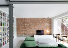 storefront converted to apartment by Anne Sophia Goneau