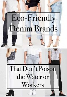 Denim that is sourced sustainably, crafted eco-consciously, and upholds social responsibility – and fits just right.