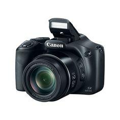 "Canon PowerShot SX520 HS 16MP 3"" LED 42x Optical Zoom Digital Camera Bundle 8GB SDHC - BJ's Wholesale Club"