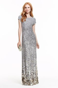 The perfect Nannie Sequin Knit Maxi Dress for a glamorous evening... #CalypsoHoliday