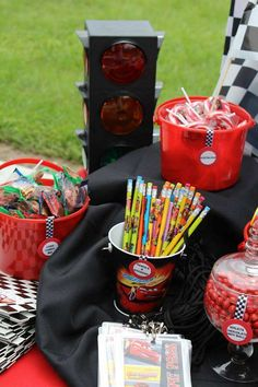 Disney's Cars Birthday Party Ideas   Photo 1 of 31   Catch My Party