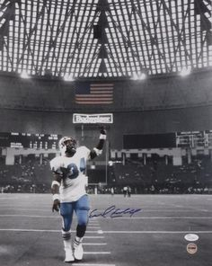 EARL CAMPBELL SIGNED & FRAMED 16X20 JSA COA HOUSTON OILERS AUTOGRAPH TEXANS Houston Texans Logo, Houston Oilers, Nfl History, Texas History, The Next Big Thing, Back In The Day, Eddie George, Earl Campbell, H Town