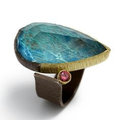 """MARIA FRANTZI-GR JEWELRY """"every piece I make is unique, even when I am working on the same basic design - no two pieces will ever be the same. I strongly believe that jewellery should be unique rather than mass-produced.""""  http://www.mariafrantzi.com/"""
